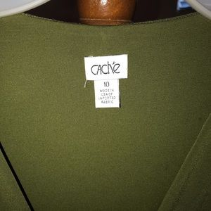 Cache Dresses - Beautiful Forest Green Caché Dress